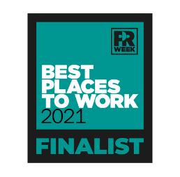 Best Place To Work 2021 Finalist